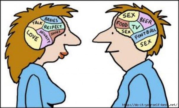 Чоловіки і жінки різні... Відмінності на рівні мозку.