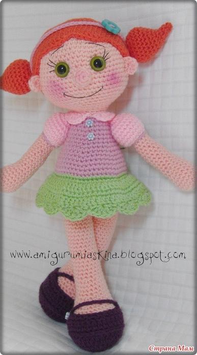Амигурами. Вязаная куколка (1) (387x700, 190Kb)