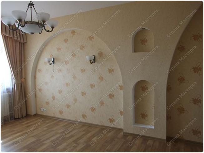 Арки на стене