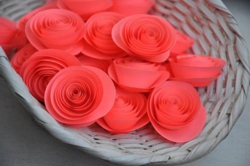 Мастерим бумажный цветок своими руками - FB.ru