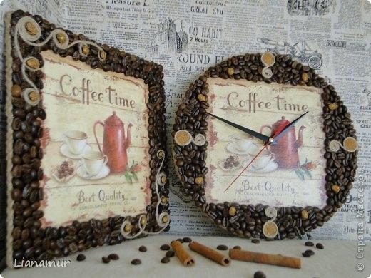 Рамки для фото из кофе своими руками