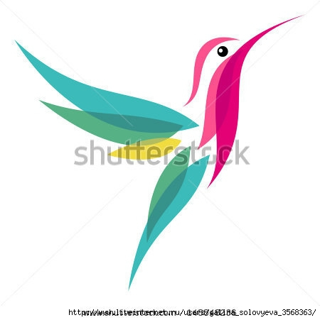 stock-vector-hummingbird-148848236 (450x451, 50Kb)