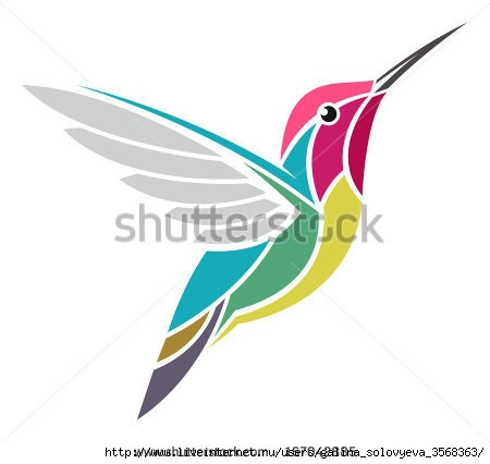 stock-vector-hummingbird-anna-s-hummingbird-167042885 (450x426, 52Kb)