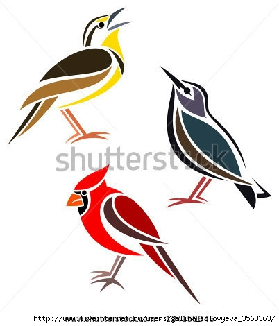 stock-vector-stylized-birds-western-meadowlark-common-starling-and-northern-cardinal-134150645 (402x470, 72Kb)