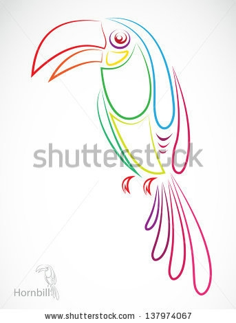 stock-vector-vector-image-of-an-hornbill-on-white-background-137974067 (343x470, 56Kb)