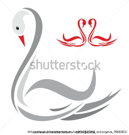 stock-vector-vector-image-of-an-swans-120551962 (450x470, 59Kb)