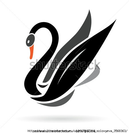 stock-vector-vector-image-of-swans-on-a-white-background-129785069 (450x470, 51Kb)