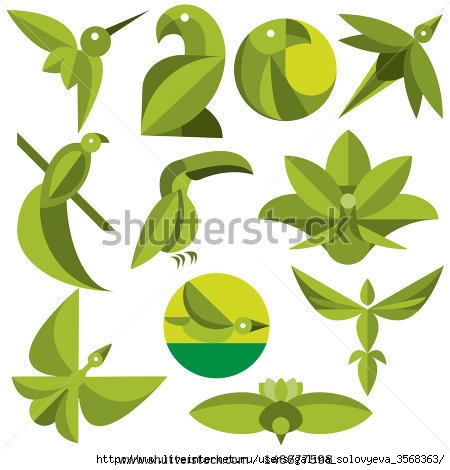 stock-vector-vector-set-of-eco-icon-birds-146677598 (450x470, 97Kb)