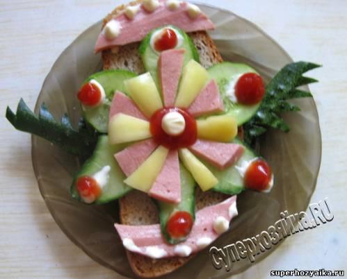 оформление салатов на детский день рождения с рецептами