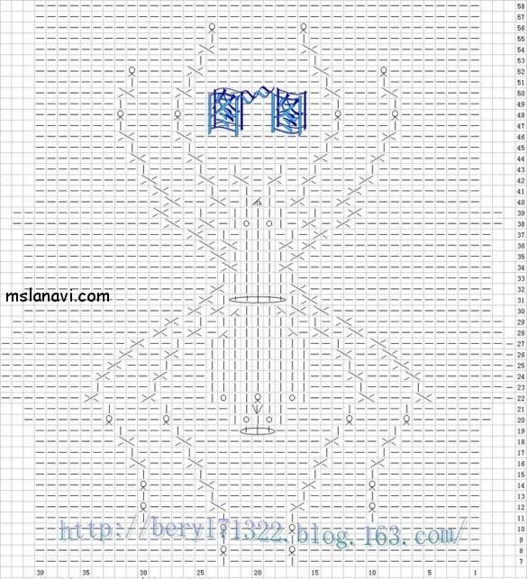 Вязание спицами узор паука 43
