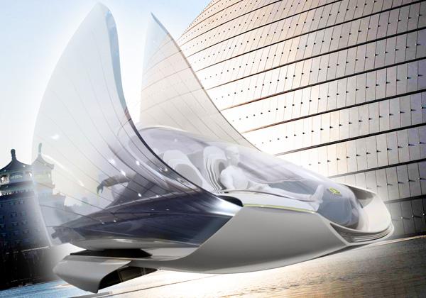 концепт автомобиля будущего (600x420, 203Kb)