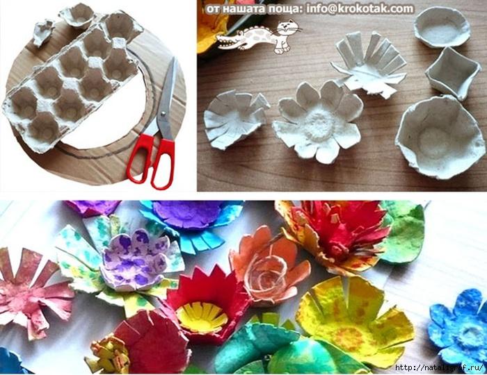 Как сделать цветы из салфетки своими руками