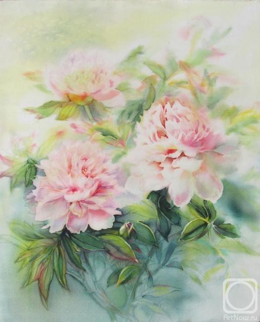 Большие цветы пионы из бумаги мастер класс 85