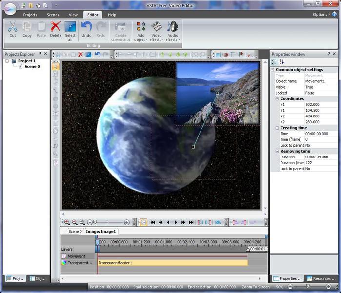 VSDC Free Video Editor: больше возможностей для креативности