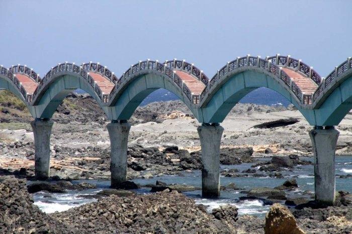 драконий мост тайвань 3 (700x466, 210Kb)