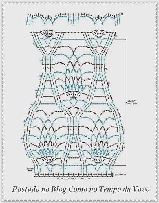 Стильное ажурное пончо крючком (6) (549x700, 212Kb)