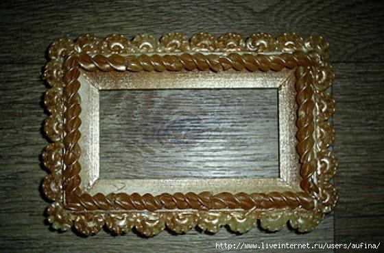 Рамки своими руками фото из макарон