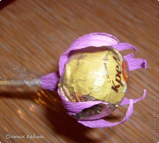 пион из конфет и гофробумаги (8) (520x467, 120Kb)