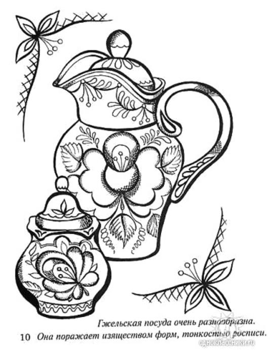 Рисунки росписи бутылок