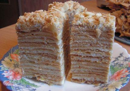 Творожно-фруктовые пирожные Наполеон (429x300, 30Kb)