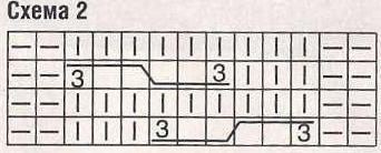 Pulover-s-obemnymi-uzorami-svyazannyj-spicamiSxema-2 (342x138, 42Kb)