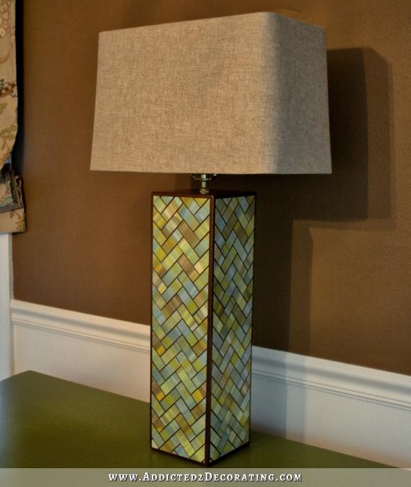 Деревянная настольная лампа своими руками чертежи