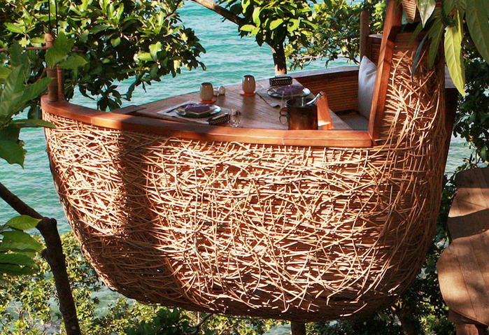 7-Ресторан на дереве. остров Ко Куд в Таиланде (700x479, 255Kb)