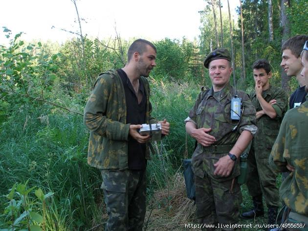 диверсанты - диверсионная наука, преподанная инструктором НАТО усвоена боевиками УНА-УНСО, осталось получить приказ на ее применение в бою (630x472, 235Kb)