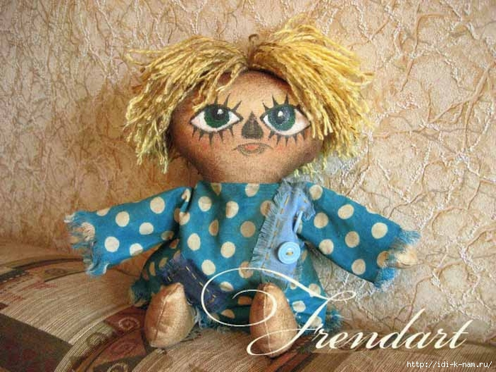 чердачные куклы что это такое виды текстильных кукол