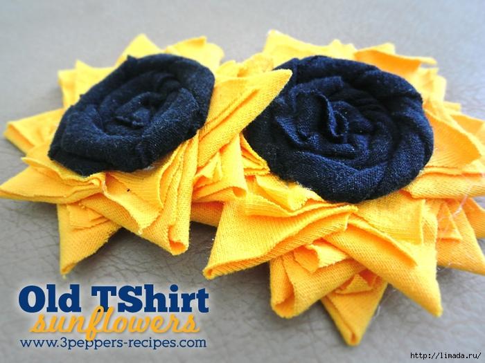 Old-Tee-Shirt-Sunflowers (700x525, 300Kb)