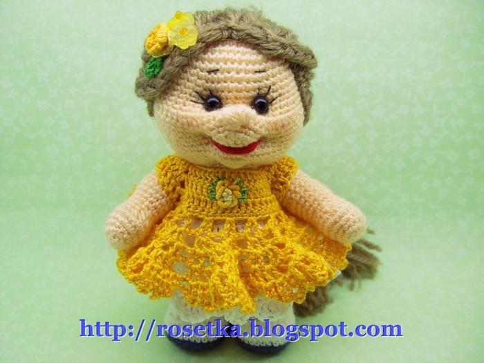 Вязаные спицами куклы своими руками