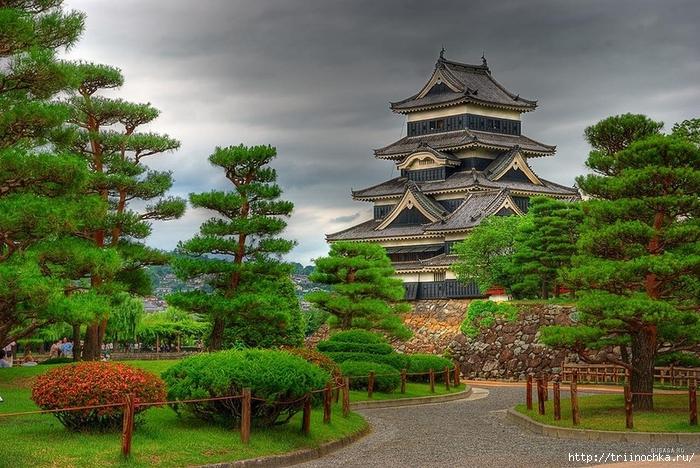 Немного по замку Мацумото и садам Японии!