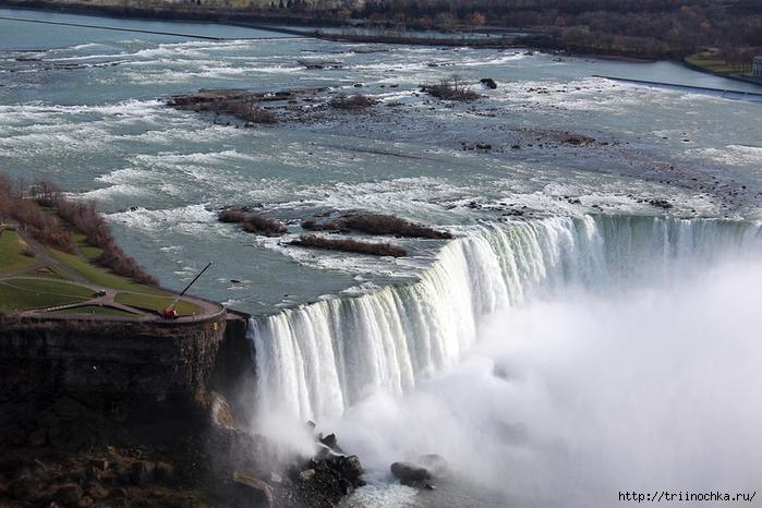 Осенний Ниагарский водопад!