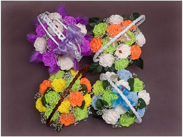 Плетение из газет. Мастер-класс по плетению корзинки для цветов (32) (700x525, 313Kb)