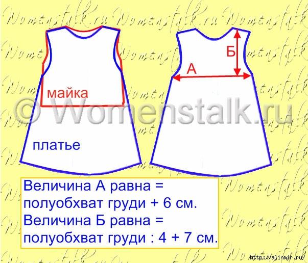 выкройка платья для девочки5 (603x516, 207Kb)