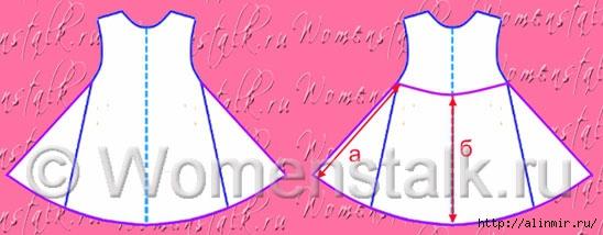 выкройка платья для девочки13 (548x214, 86Kb)