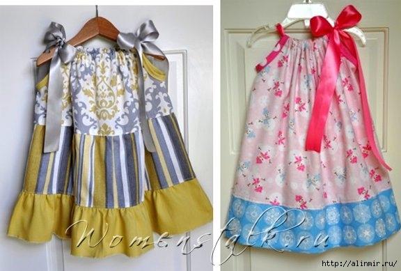 платье для девочек на кулиске (576x389, 130Kb)