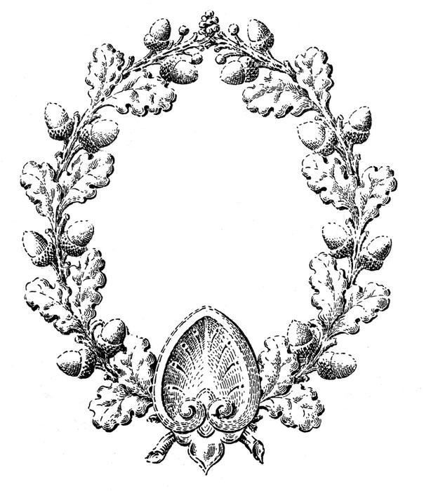 Винтажные изображения для творчества. Орнамент (11) (604x700, 176Kb)