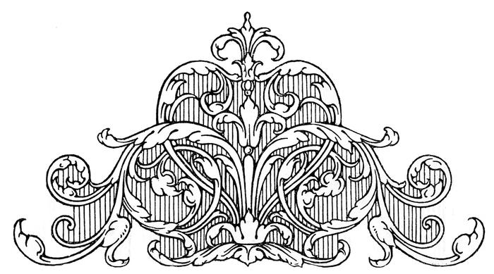 Винтажные изображения для творчества. Орнамент (22) (700x389, 137Kb)