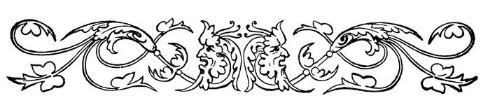 Винтажные изображения для творчества. Орнамент (26) (700x160, 60Kb)