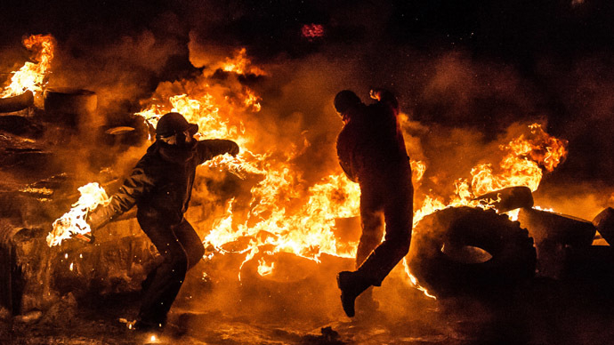 Фото с Майдана в Киеве! О, ужас!