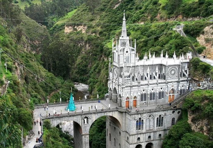 Собор Лас-Лахас - колумбийское чудо (700x487, 345Kb)