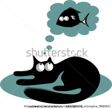 stock-vector-funny-black-cat-and-fish-126187475 (450x437, 54Kb)