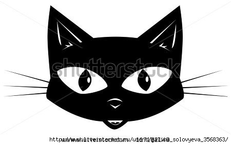 stock-vector-the-black-cat-face-of-a-black-cat-for-a-sticker-or-a-mask-117182149 (450x283, 41Kb)