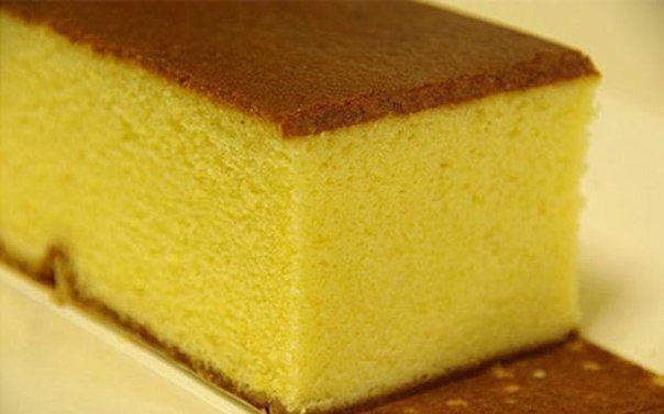 Простой пышного бисквита для торта