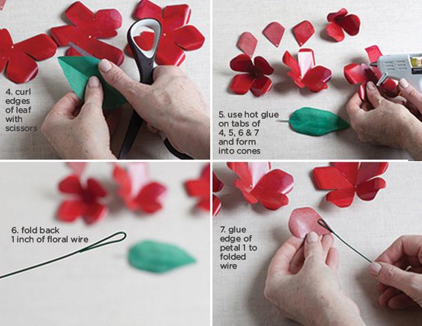 Розы из бумаги ко дню Святого Валентина. Шаблоны для распечатки (2) (612x474, 654Kb)