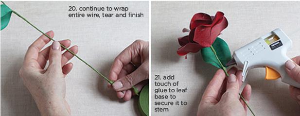 Розы из бумаги ко дню Святого Валентина. Шаблоны для распечатки (6) (617x239, 339Kb)