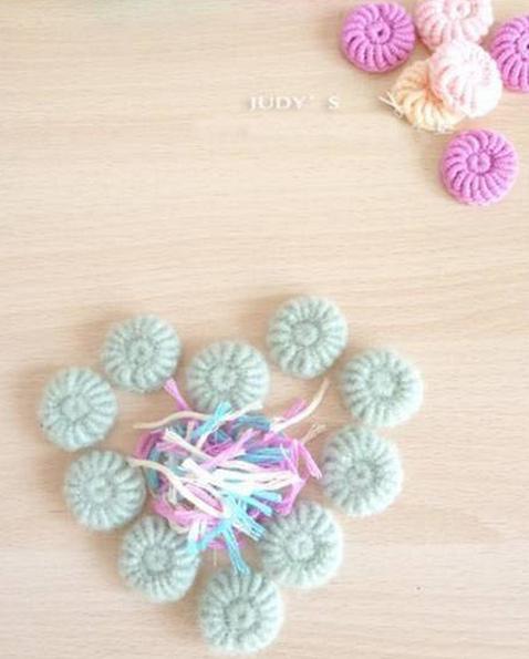 Цветочки крючком для вязания сидушки или коврика (12) (478x595, 454Kb)