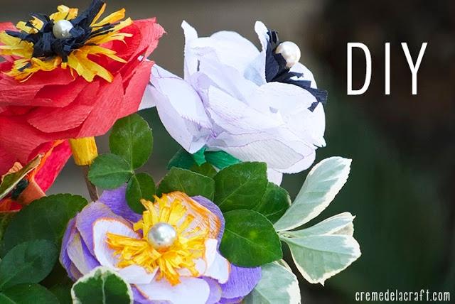 цветы из гофрированной бумаги (2) (640x428, 198Kb)