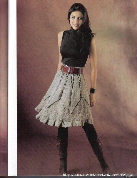 юбка спицы (466x604, 135Kb)